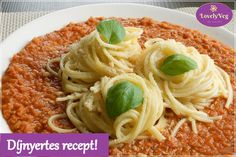 Pasta Recipes, Diet Recipes, Vegan Recipes, Healthy Snacks, Healthy Eating, Vegas, Vegetable Dishes, Bologna, Clean Eating