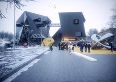 Urban Office Architecture designed the 'THE HELSINKI GUGGENHEIM MUSEUM' in Finland, Helsinki. http://en.51arch.com/2014/12/a7026-the-helsinki-guggenheim-museum/