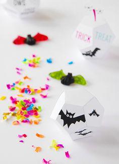 Free Printable: Halloween treat boxes