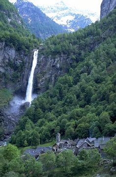 #Foroglio - Cascata   Wasserfall   Waterfall #Vallemaggia #Tessin #Ticino