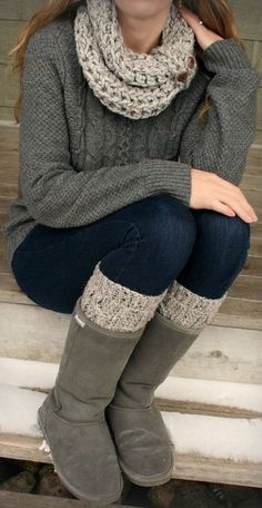 Layered Winter Knit <3