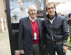 Jack Heuer and Alain Prost wearing TAG Heuer Carrera Speed CV2001AE.FC6233