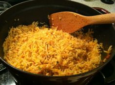 Authentic Mexican Rice - Loved the times we were able to go to Rocky Point New Mexico. The food was so simple and yummy. This recipe reminds me off good times. Camping out at Playa Miramar next to Manny's Bar and Grill on the beach and every 5th song was Margaritaville. lol