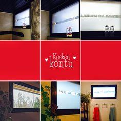 Kosken kontu: Kylppärin ja saunan ikkunan tuunaus huurremaalilla