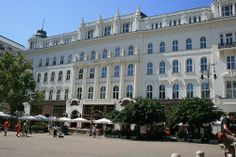 Budapest-Cafe Gerbeaud. Such a beautiful City,that is quickly restoring itself to it's pre Soviet elegance and charm.