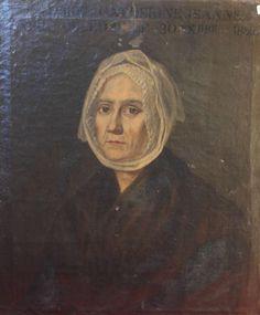Portrait de femme, vers 1800, Provence. | Institut du Grenat