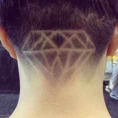 Diamond undercut. Awesome!!!