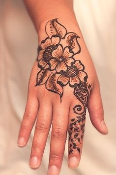 Henna Designs for Hand
