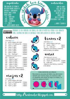 Amigurumi Croche Crochet Como Fazer A Croche - Diy Crafts Crochet Bunny Pattern, Crochet Cardigan Pattern, Love Crochet, Diy Crochet, Crochet Crafts, Crochet Dolls, Diy Crafts, Amigurumi Tutorial, Crochet Disney