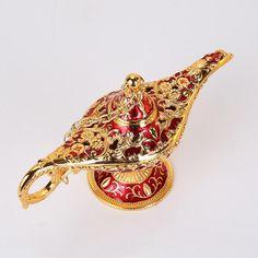 Vintage Lamps, Vintage Tea, Greek Mythological Creatures, Teapot Crafts, Primitive Lamps, Genie Lamp, Aladdin Lamp, Luxury Gifts, Oil Lamps