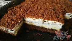 A tasty cake, which reminds us of the Maulwurftorte. The ingredients given are for a smaller sheet. A tasty cake, which reminds us of the Maulwurftorte. The ingredients given are for a smaller sheet. Cheesecake Toppings, Easy Cheesecake Recipes, Easy Smoothie Recipes, Oreo Cheesecake, Baking Recipes, Snack Recipes, Dessert Recipes, Maila, Food Garnishes