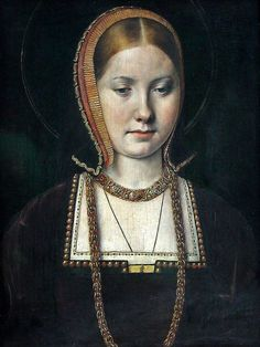 Michel Sittow: Portrait of Henry VIII's sister Mary Rose Tudor? Once said to be of Katherine of Aragon. Mary Rose Tudor (18 March 1496 – 25 June 1533) was the younger of the two surviving daughters of King Henry VII of England and Elizabeth of York, and the younger sister of King Henry VIII of England. 1502: Vienna