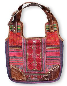 Vintage bag in fabrics from chiangmai thailand Stories by rikkemai