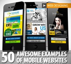 50 Mobile Web Design Examples, Tutorials, Builders and Tips/Tricks