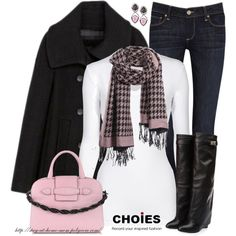 """A Little Houndstooth"" by stay-at-home-mom on Polyvore"