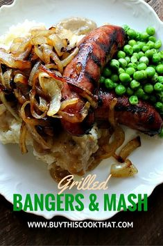 We thought we would show the Irish a little Tennessee love and throw our Grilled Sausages for Bangers and Mash on the grill. And we are so glad we did!