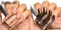 Dermelect Debonaire and Stunner for a summer mani/pedi combo #ad