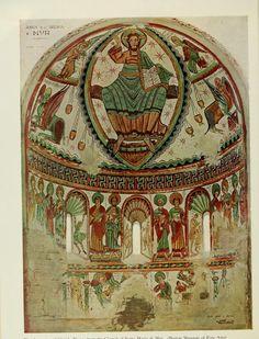 The Burlington magazine Fresco, Christ Pantocrator, Masonic Symbols, Romanesque, Sacred Art, Vintage World Maps, History, Temples, Mosaics