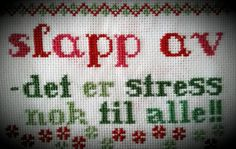 Bilderesultat for geriljabroderi Hardanger Embroidery, Embroidery Stitches, Cross Stitch Letters, Modern Cross Stitch, New Words, Stitch Patterns, Needlework, Diy And Crafts, Funny Quotes