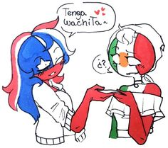 Read 🇲🇽 Netflix from the story >Imagenes de CountryHumans< by -Misfarget- (GPS) with reads. Vent Art, Cristiano Ronaldo Cr7, Mundo Comic, Country Art, Hetalia, Smurfs, Disney Characters, Fictional Characters, Geek Stuff