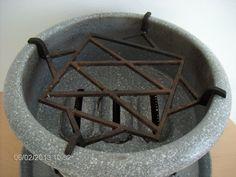 Enamel Vintage Dutch Kerosene Stove Slow Cooker Haller Granitic. €64.95, via Etsy.