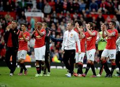Manchester United manager Louis van Gaal left frustrated by his side #dailymail
