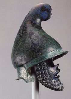 thracian style Greek helmet, 4th century BC - possibly from Thrace.