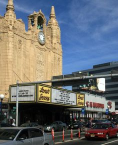 Loew's Jersey Theatre in Jersey City's Journal Square...