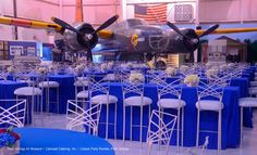 Corporate Events - 2011 - Palm Springs Air Museum, Palm Springs (Carousel Catering Inc., Classic Party Rentals-Palm Springs)