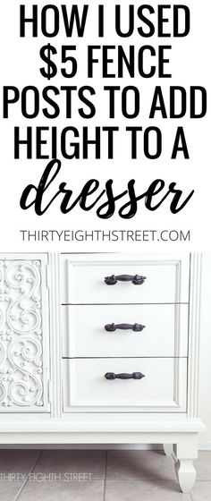 New Simple DIY Furniture Makeover and Transformation White Painted Dressers, Painted Bedroom Furniture, Refurbished Furniture, Furniture Makeover, Chair Makeover, Colorful Furniture, Repurposed Furniture, Rustic Furniture, Cool Furniture