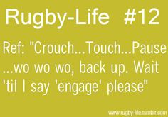 Rugby-Life - Wo back up!