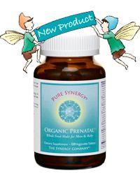Organic Prenatal Vitamin - The Synergy Company