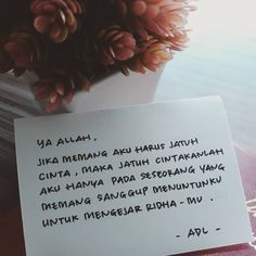 "29rb Suka, 206 Komentar - Majelis Tausiyah Cinta 💌 (@tausiyahcinta_) di Instagram: "". .Ya Allah, Jika aku memang harus jatuh cinta pada manusia, . Jatuh cintakanlah aku hanya pada…"""
