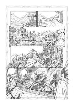 Marco Maccagni's Artworks: Archon #1 pg3