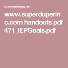 www.superduperinc.com handouts pdf 471_IEPGoals.pdf