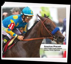 Congrats to @EspinozasVictor & #AmericanPharoah on their #TripleCrown win #DailyRacingForm #MichaelAmoruso