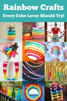 These rainbow crafts are fun for adults or children – anyone who loves color should try these projects! There are ideas for all skill levels. Rainbow crafts are great for St. Patrick's Day, Pride, spring, or any other holiday or celebration! I don't know about you, but I'm ready for warmer weather. If you knew … The post Rainbow Crafts Every Color Lover Should Try appeared first on Mod Podge Rocks. Do It Yourself Decorating, Diy Decorating, Rainbow Crafts, Rock Crafts, Cleaning Hacks, Home Improvement, Crafts For Kids, St Patrick, Children