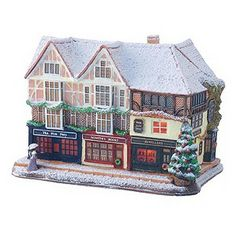 Lilliput Lane Christmas In Canterbury