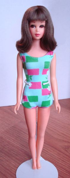 "Francie!  Barbie's cool cousin & the 1st with ""real eyelashes""!  I loved her."