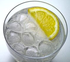 cleansing-calorie-fat-burning drink; I swear I can feel it working. A spoonful of vinegar and a spoonful of lemon juice in ice cold water. It's refreshing and speeds up your metabolism. And I tastes just like lemon water and you can't taste the vinegar.