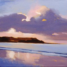 Let's Make a Painting: Acrylic Seascape Lesson for an Absolute Beginner