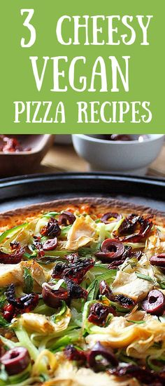Quick and easy pizza that the whole family will love. #veganpizza #easyveganmeals