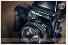 Equipos analógicos para clases prácticas de fotografía. Formato medio 6x 4,5. opticas de 80 mm y 150 mm