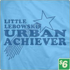 In honor of The Big Lebowski (cast reuniting tonight at Lebowski Fest in New York)! Multiple colors available. $6.00