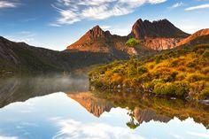 Images of Australia: World Heritage sites..cradle mountain Tas.