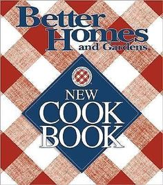 Better Homes and Gardens New Cook Book 1996 Hardcover 0696201887 | eBay