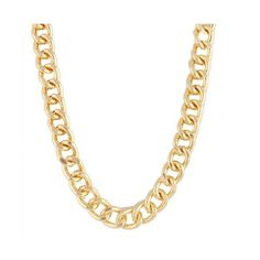 Ladies Iced Out Gold 19.5 Inch Locket Link Chain ($4.95) ❤ liked on Polyvore featuring jewelry, necklaces, accessories, chain, yellow gold jewelry, gold chain necklace, yellow gold chain necklace, cross necklace and womens jewellery