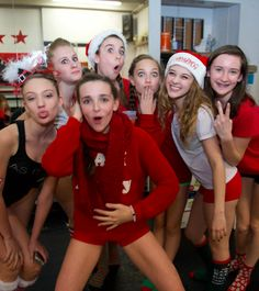Maddie Ziegler at the ALDC Christmas Party [2014]