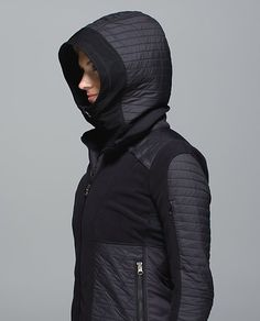 lululemon makes technical athletic clothes for yoga, running, working out, and most other sweaty pursuits. Sport Wear, Athletic Wear, Workout Wear, Sport Fashion, Fashion Details, Active Wear, Women Wear, Winter Jackets, Hoodies