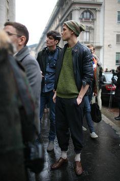 They Are Wearing: Milan Men's Fashion Week Photo by Kuba Dabrowski